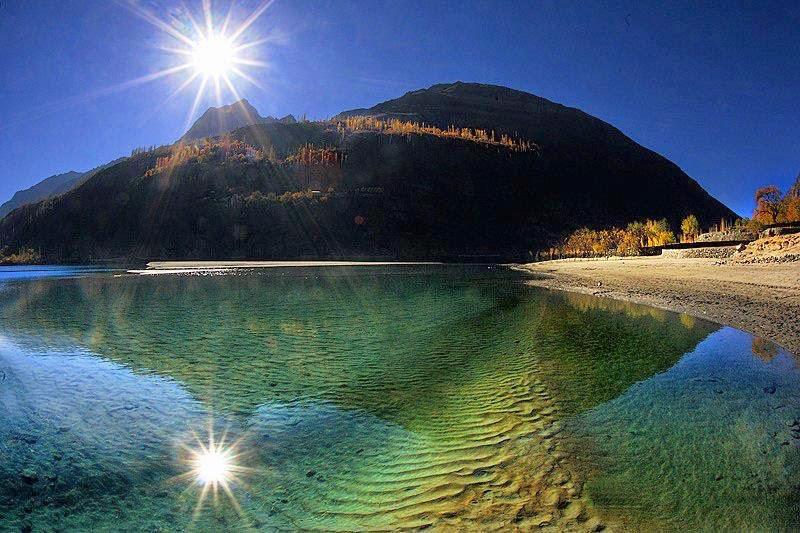 Khalti Lake Gupis District Ghizer Gilgit-Baltistan